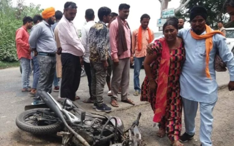 father-and-son-died-in-road-accident-at-gadarpur